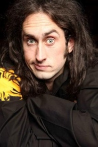 That's Ross Noble, you heathens. PS check him out, he's hilarious :)