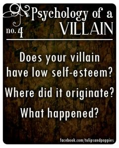 villain low self esteem